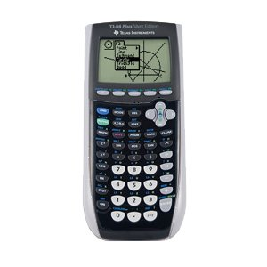 Texas Instruments Inc. TI-84 Plus Silver Edition Dark Grey Graphing Calculator