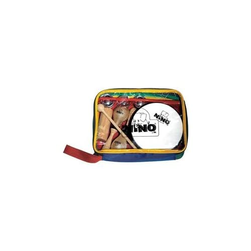 Nino 5 Piece Rhythm Set With Bag Musical Instruments