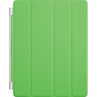 Apple Ipad 2 3 4 Smart Cover In Lime Green/Gray Liner With Magnetic Hinge And Auto Sleep