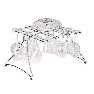 Large Folding Decanter And Wine Glass Dryer front-641506