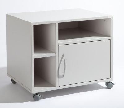 office-akktiv-Unterschrank-mobil-HxBxT-595-x-700-x-570-mm-lichtgrau-RAL-7035-Druckerschrank-Druckerschrnke-Druckertisch-Druckertische-EDV-Mbel-EDV-Beistellmbel-EDV-Mbel-Kopiertisch-PC-Schrank-Rollschr