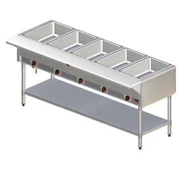 Apw Wyott Sst-2 Hot Well Steam Table, Champion, 2 Well Sealed Well. Keep Your Fo