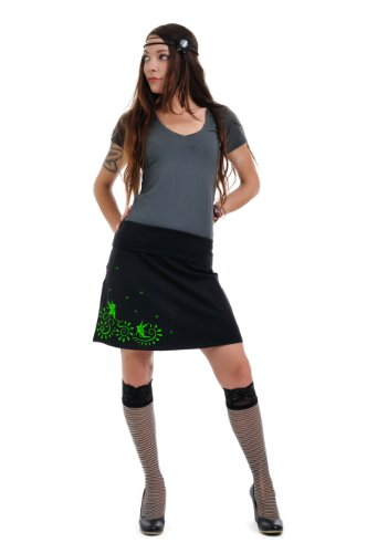 3Elfen-skirt-black-play-fairy