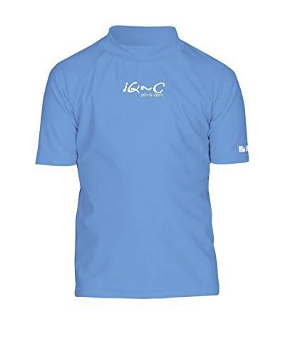 IQ Camiseta Técnica UV 300 Azul Medio