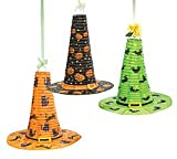 312g0YXky2L. SL160  Witch HAT Paper Lanterns Set of 3 Halloween Decoration