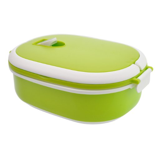 HomeFlav Microwave Safe Lunch Box Food Container Green