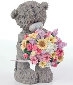 Me To You Bears - Tatty Teddy - PRETTY PETAL figurine