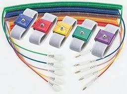 Anti-Static Control Products WRSTBND JEWEL ADJ ELA SAPPHIRE 4MM (1 piece)
