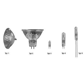 Ersatzlampe für Unterwasserscheinwerfer 12V /200 W Sockel Typ 3 - us259