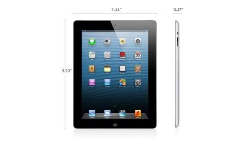 Apple iPad (4th Generation) WiFi 32GB Black