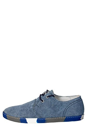 Docksteps DSE102621 Sneakers Uomo Tessuto Blu Blu 44