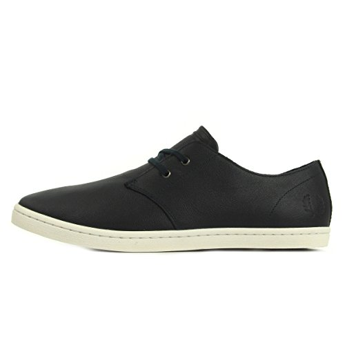 Fred Perry Byron Low Tumbled Leather Navy B1133608, Scarpe sportive - 41 EU