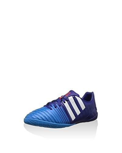 ADIDAS Sneaker Nitrocharge 3.0 In J [Blu/Celeste]