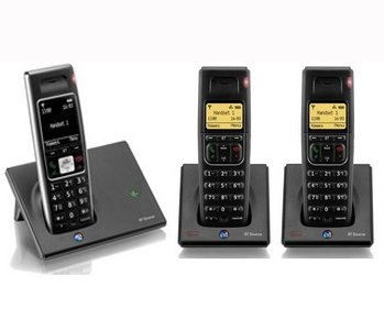 BT Diverse 7410 TRIO DECT Digital Cordless Telephone image