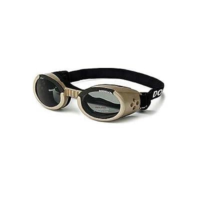 Doggles - ILS XL Chrome Frame / Smoke Lens