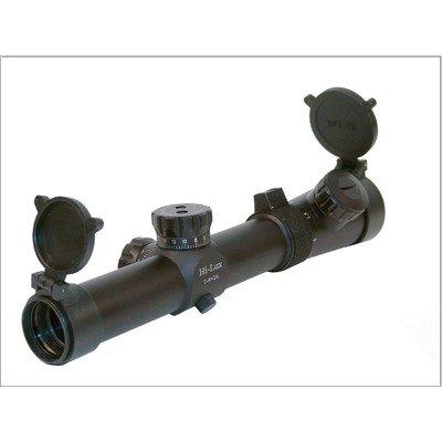 Leatherwood CMR 1-4×24 Riflescope, Red Circle Dot Reticle, Matte CMR14X24-R