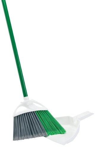Libman Precision Angle Broom with Dustpan (Broom Set With Dust Pan compare prices)