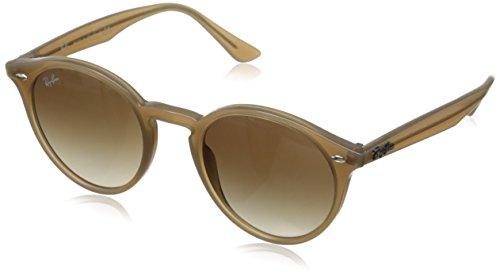 Ray-Ban Occhiali da Sole RB2180 Rotondi 49mm, Dove Gray/Brown Gradient Sunglasses