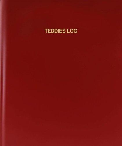 BookFactory® Teddies Log - 120 Page, 8.5