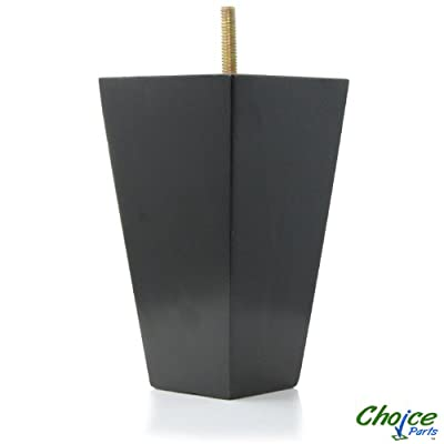 Tremendous Low Choice Parts 5 5 Inch Tall Black Tapered Pyramid Wood Best Image Libraries Weasiibadanjobscom