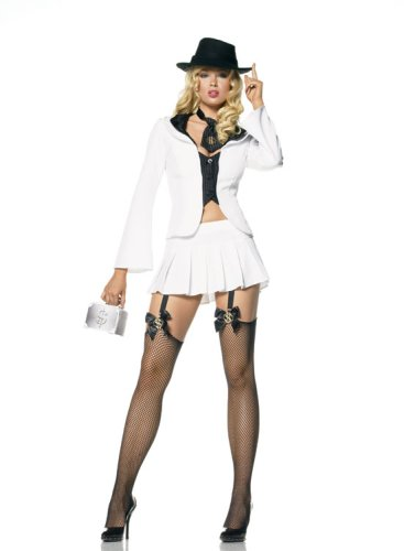 Sexy Gangster Suit Costume
