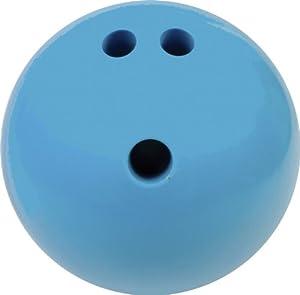 Champion Sports 4-Pound Plastic Rubberized Bowling Ball