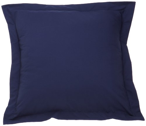 Best Price Fresh Ideas Tailored Poplin Pillow Sham Euro, Navy