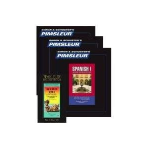 Pimsleur Spanish I, II, III, Plus Bundle