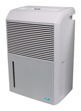 PerfectAire PADP50 50 Pints/Day Dehumidifier Adjustable Humidistat, Timer, Washable Filter, with Built-in Ejector Pump, 3000 Sq Ft Coverage