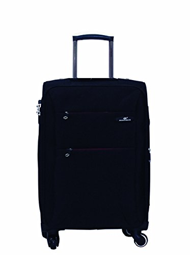 Princeware Princeware Michigan Nylon 78 Cms Black Suitcase (6993)