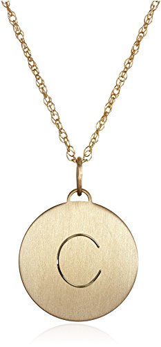 14k-Gold-Filled-Round-C-Heavy-Charm-Pendant-Necklace-18