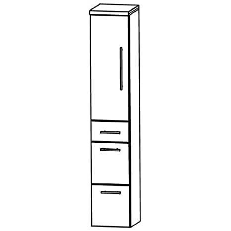 Puris Star Line (HNA093A7ML / R Tall Cupboard Bathroom Cupboard 30 CM