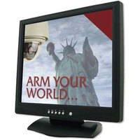 Arm Lcd1520Hg Security Monitor 15'' High Grade Lcd Monitor With Vga, Hdmi, Dual Looping Bnc, Rca, & Audio