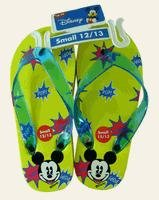 Disney Mickey Mouse Children's Yellow Sandals - Kids Mickey Sandals (Small Sz 12/13)