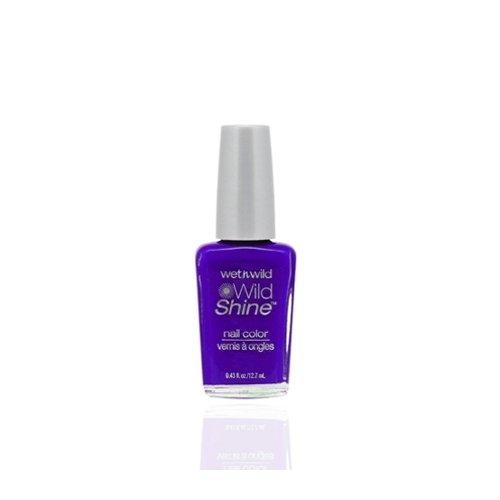 ウェットアンドワイルド Wild Shine Nail Color Eggplant Frost
