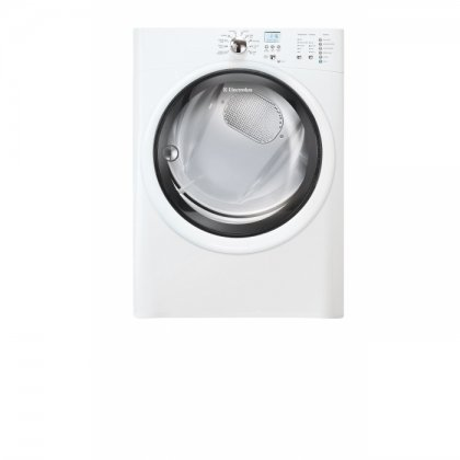 Electrolux EIGD50LIW IQ-Touch 8.0 Cu. Ft. White Stackable Gas Front Load Dryer