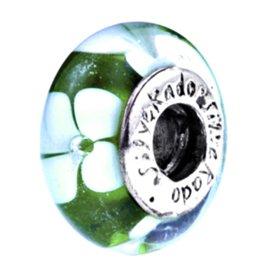 Silverado 'Reef Walker' Morano vetro, adatto a braccialetti Pandora, Chamilia e Troll