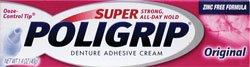 Poli-grip Super Denture Adhesive Cream Original -- 1.4 oz
