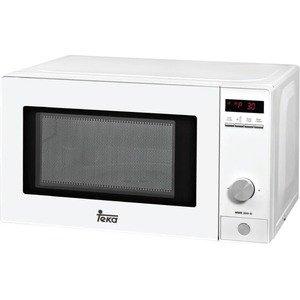 Teka - Microondas Mwe200G, 20L, 1050W/700W, Congrill, Programador, Digital, Blanco, 8 Menus De Acceso Directo, Temporizador De 0 A 95 Min. Descongelacion Por Tiempo Y Peso. Con Display, Función +30Seg.
