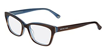 Michael Kors Eyeglasses MK257 235 Brown Light Blue Demo 50 17 130