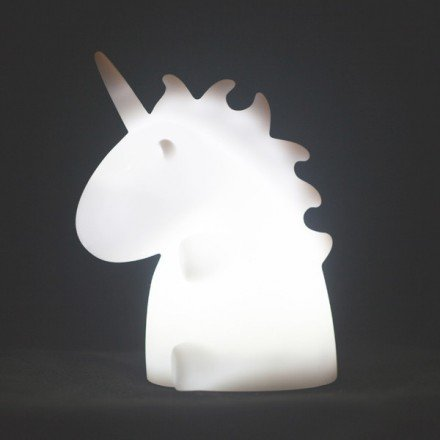 Veilleuse-Licorne-blanche-Uni-the-Unicorn-Smoko-Inc