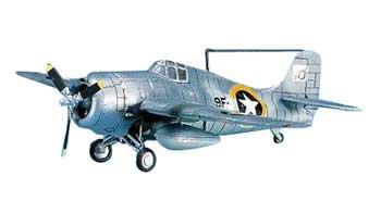 Academy Grumman F4F-4 Wildcat USN Model Kit - 1