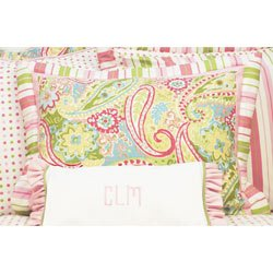 Spring Paisley Standard Pillow Sham