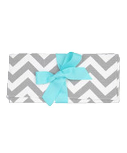Caught Ya Lookin' Baby Changing Pad, Gray Chevron
