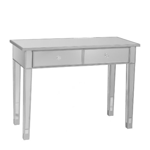 Mirage Mirrored 2-Drawer Console Table (Mirror For Console compare prices)