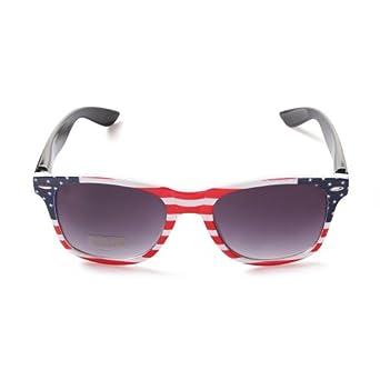 Amazon.com: American Flag Wayfarer Sunglasses Stars and