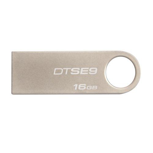 Kingston Digital Datatraveler Se9 16Gb Usb 2.0 Dtse9H/16Gbz front-133521
