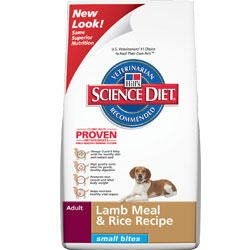 Hill's Science Diet Adult Small Bites Lamb Meal and Rice Recipe Dry Dog Food