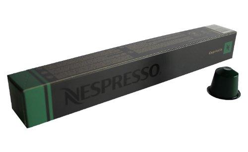 Nespresso Capsules green - 10x Capriccio - Original Nestlé - Espresso Coffee