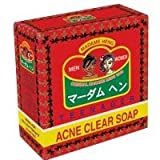 Madame Heng Acne Clear Soap Teenage & Adult Anti-pimples Blemish Scar Made in Thailand